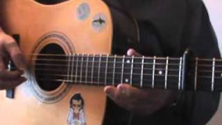 "How to play ""Blowing in the Wind"" Bob Dylan - (Part 1)"