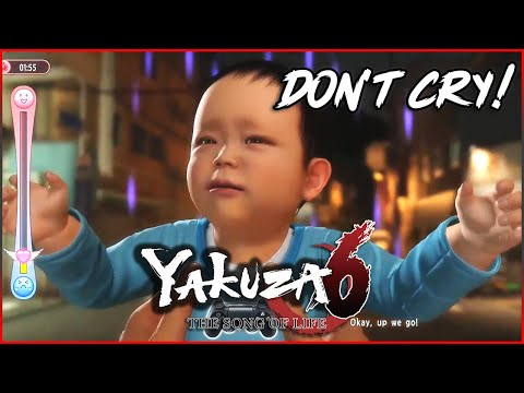 Yakuza 6: The Song of Life - Crying Baby Game |