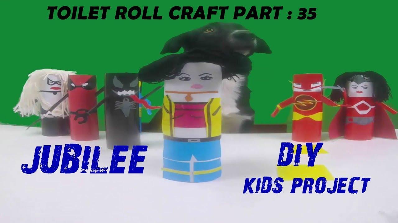 Jubilee Marvel Diy Toilet Paper Roll Craft Series 35