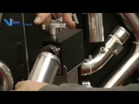 Tube Roll Beading Machine Demonstration Video
