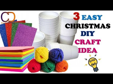 3 DIY CHRISTMAS CRAFT PROJECT YOU MUST TRY I Creative Diaries