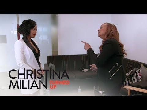 Christina Milian Turned Up  Carmen Blasts Christina Milian Over Music   E!