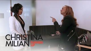 Christina Milian Turned Up | Carmen Blasts Christina Milian Over Music Video | E!