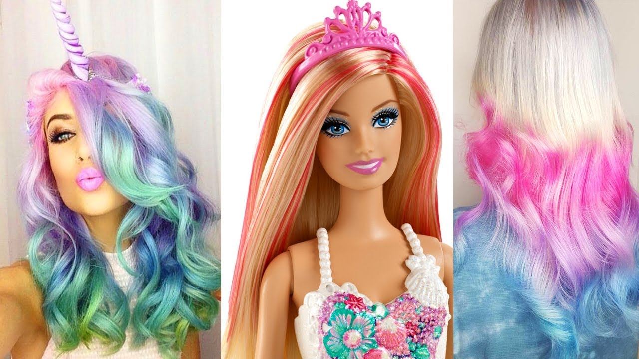 hairstyle barbie dolls tutorial