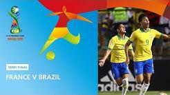 France v Brazil Highlights - FIFA U17 World Cup 2019 ™