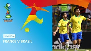 France V Brazil Highlights   Fifa U17 World Cup 2019 ™