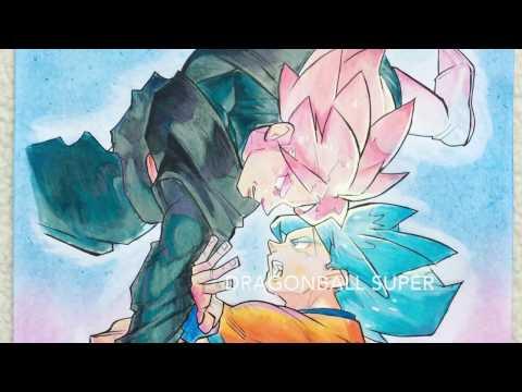 GOKU SSJ BLUE VS BLACK GOKU SSJ ROSE  - How Do I Draw