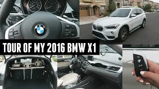 Car Tour of My 2016 BMW X1!