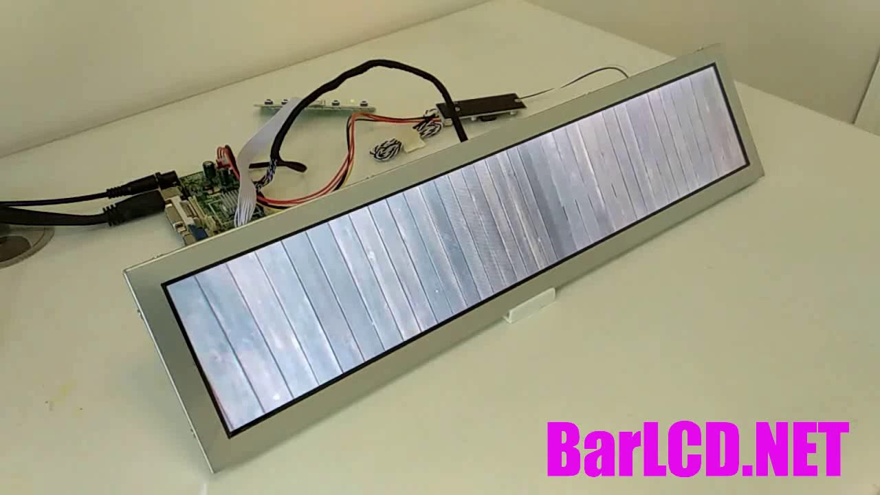 bar monitor stretched display resizing LCD cheap low price
