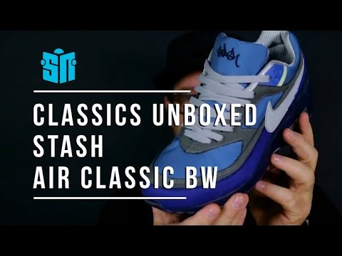 best sneakers 4a99b a80b0 Classics Unboxed STASH x Nike Air Classic BW