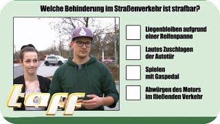 WER hat VORFAHRT? Wer kann diese Verkehrsfragen beantworten? | taff | ProSieben