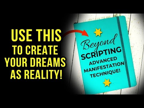 ADVANCED SCRIPTING: The Law Of Attraction Technique That Makes Manifesting EASY! (Use THIS!)