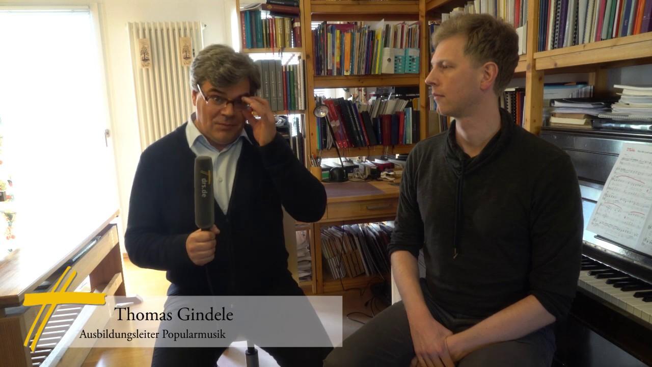 Thomas Gindele über die neue popularmusikalische Ausbildung als Kirchenmusiker
