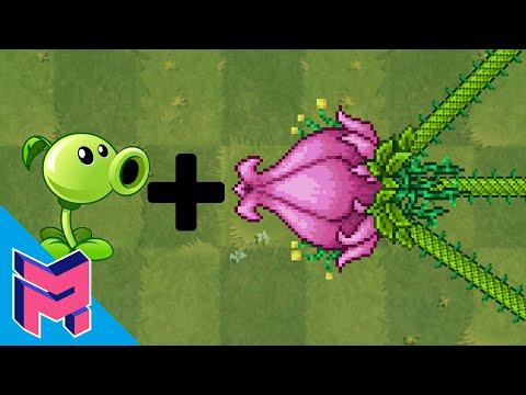 Plantera + Peashooter - Plants vs Zombies Animation |