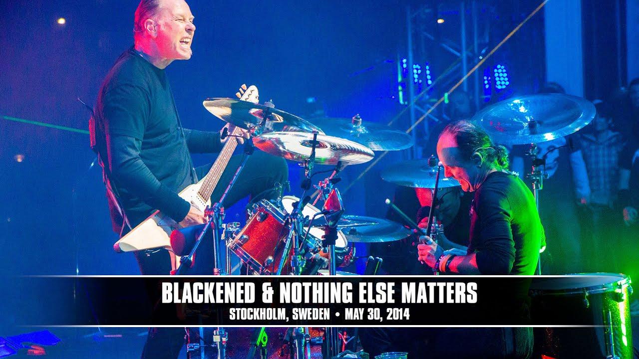 Metallica: Blackened & Nothing Else Matters (MetOnTour - Stockholm, Sweden - 2014)