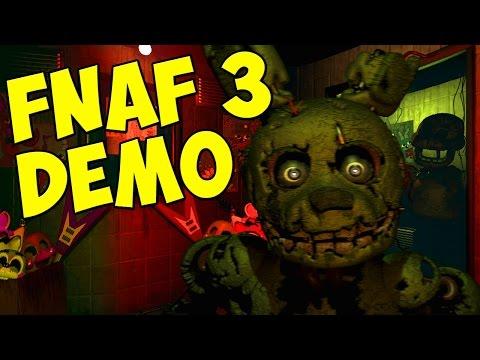 Five Nights At Freddys 3 - Демо версия FNAF 3
