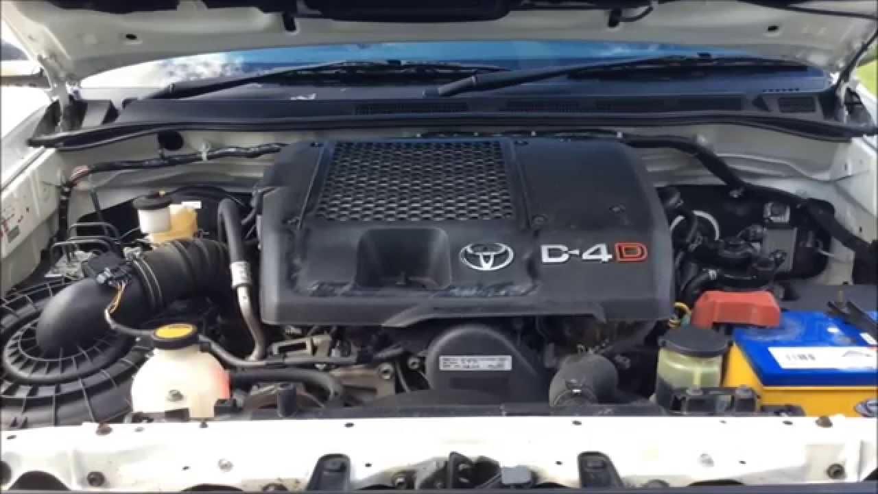 Toyota Hilux D4D diesel knock 15,000kms later