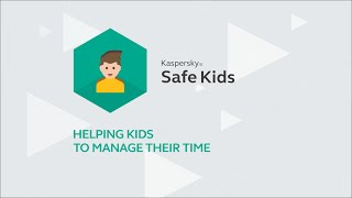 How to limit the time your kids spend online with Kaspersky Safe Kids