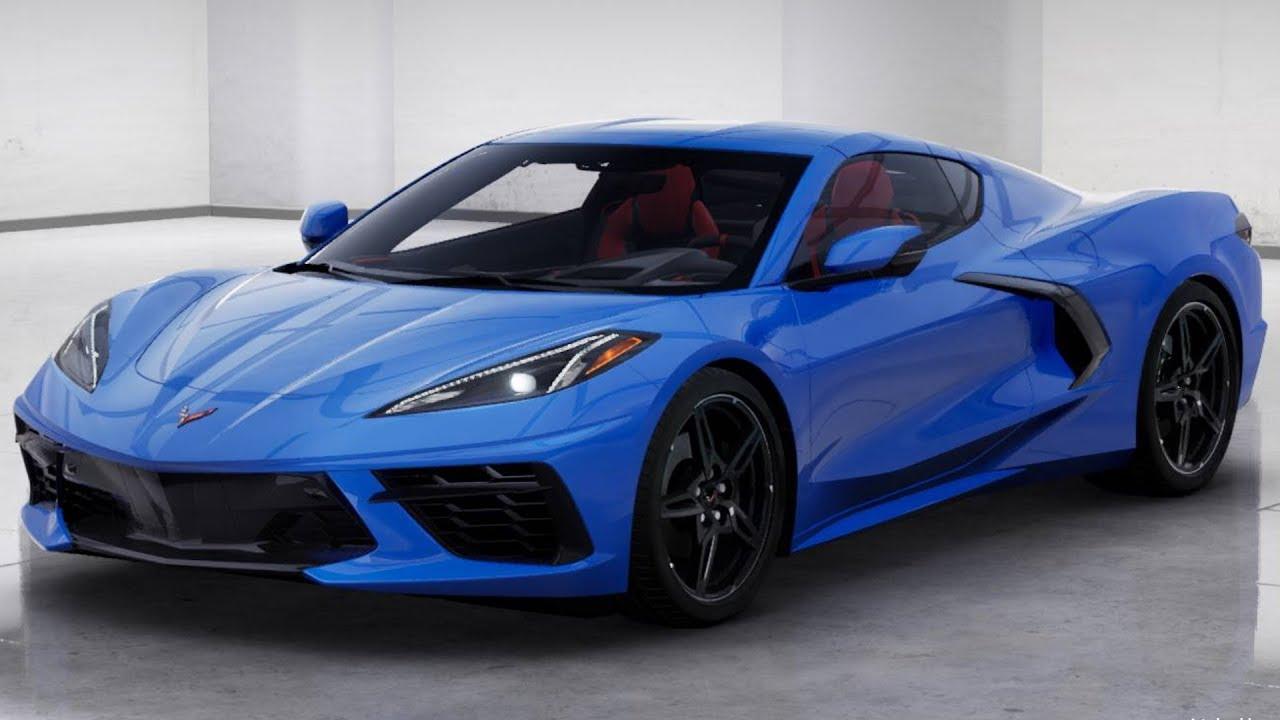 2020 Corvette Stingray Exterior Colors Youtube