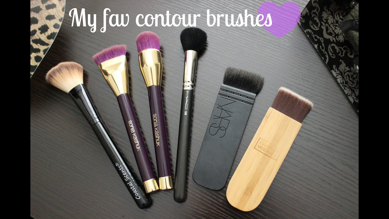 Favorite contour brushes | Mini review | NARS ITA, EVERYDAY ...