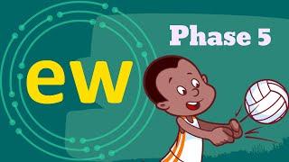 The EW (OO) Sound | Phase 5 | Phonics