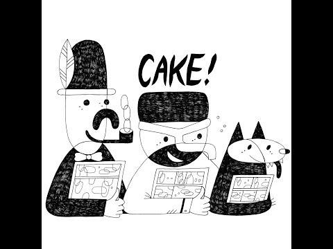Heather Benjamin, Julia Gfrörer, and Phoebe Gloeckner with Caroline Paquita- CAKE 2013 Programming