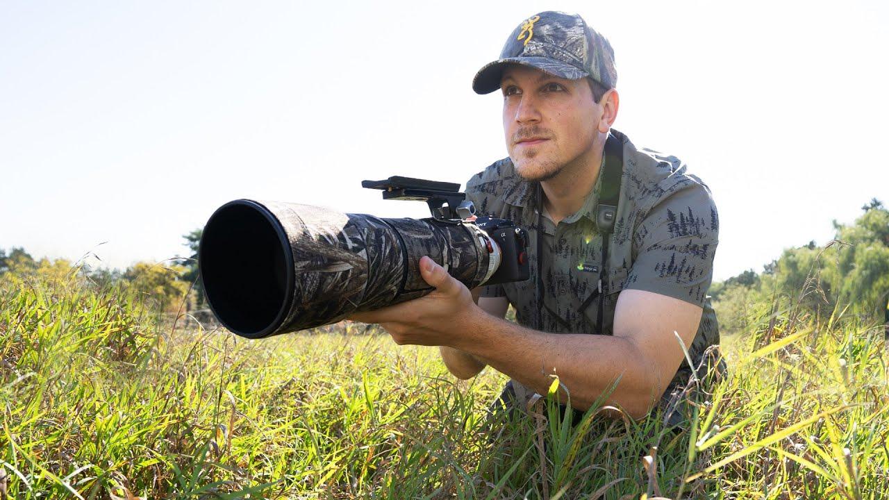 Wildlife Filmmaking Behind-the-Scenes (Bison, a7sIII, Camera Jib)