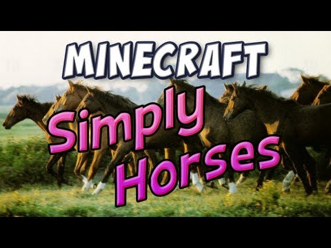 1 4 7] Simply Horses Mod Download | Planeta Minecraft