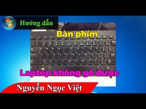 Cách sửa lỗi bàn phím không gõ được bất kỳ phím nào