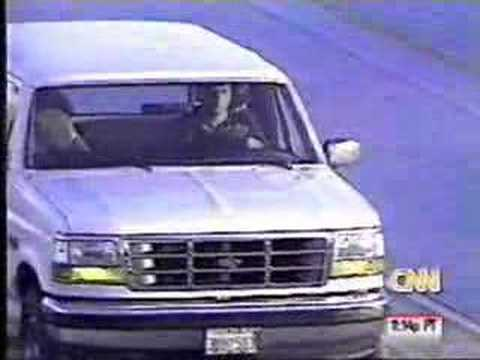 Twenty years later: The night O J  Simpson's Bronco chase crashed