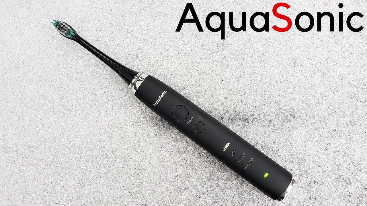 AquaSonic Review | Black Series | Best UltraSonic Toothbrush