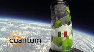 """Tecnología espacial mexicana (CanSat) - Satélite de la empresa """"Edison Effect"""" rumbo al espacio."""