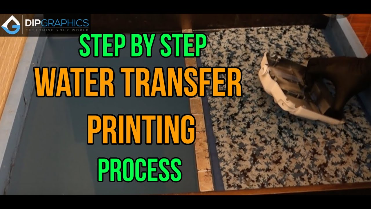 Hydrographics Singapore - Water Transfer Printing Process by DipGraphics com