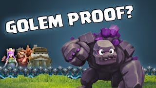 Clash of Clans - Stop your GOLEMS walking around