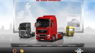UK Truck Simulator - Bölüm 1 - Çarpa Çarpa İlerledik