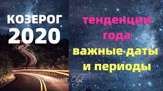 Gambar cover КОЗЕРОГ в 2020 году. ЭТО ВАЖНО ЗНАТЬ! Астролог Olga