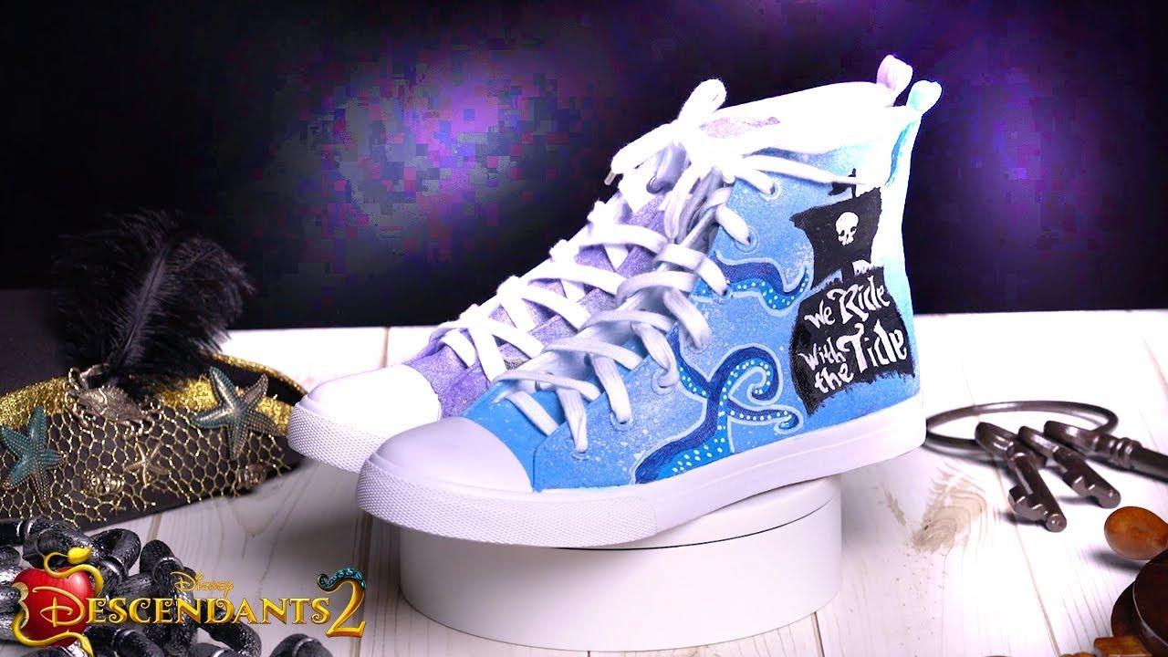 Mal \u0026 Uma Shoes Tutorial 👠 | DIY