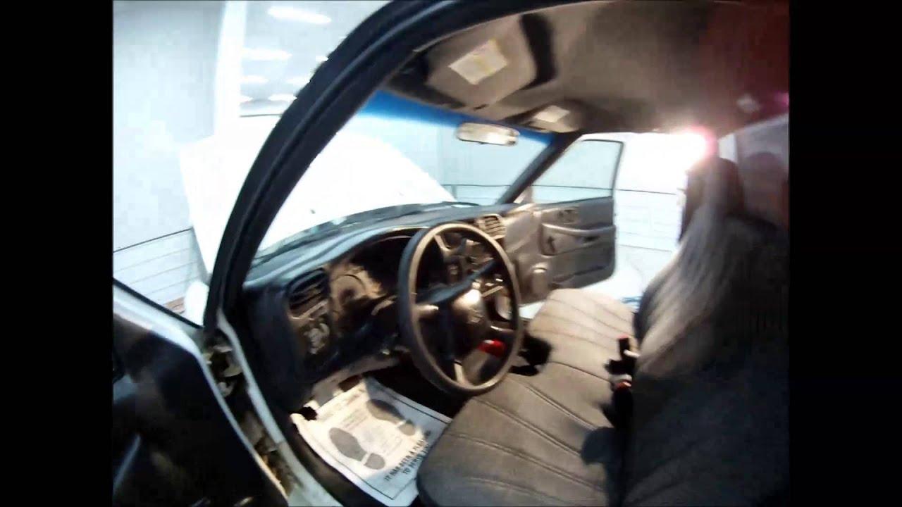 2002 Chevy S10 Interior
