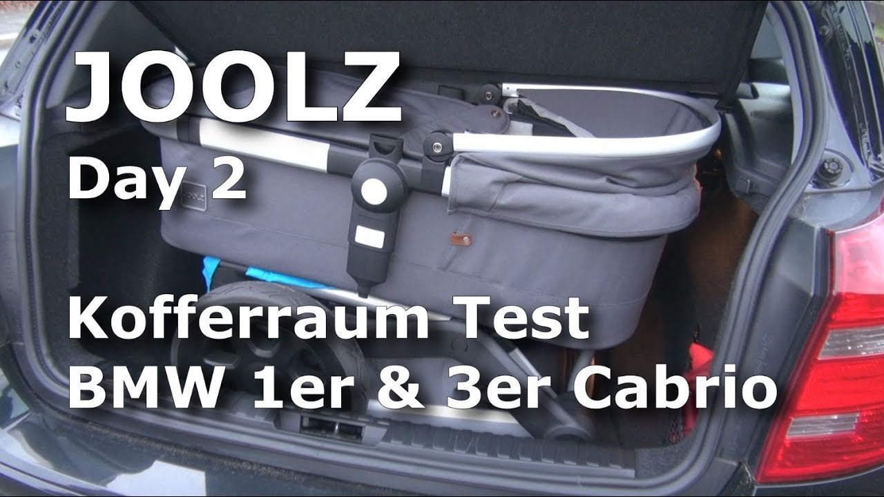 Joolz Kinderwagen 2 Kinder Joolz Day 2 Stroller Trunk Test In Bmw 1 Series And 3 Series Convertible