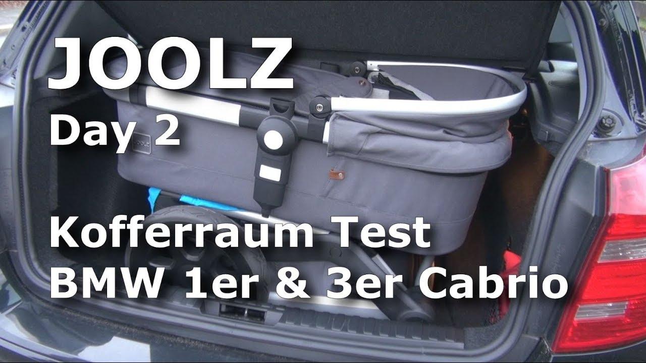 joolz day 2 kinderwagen kofferraum test im bmw 1er und 3er. Black Bedroom Furniture Sets. Home Design Ideas