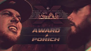 KOTD - A. Ward vs poRICH | #DECADE
