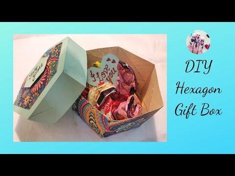 Hexagon Gift box | Gift Box Tutorial | Raksha bandhan special