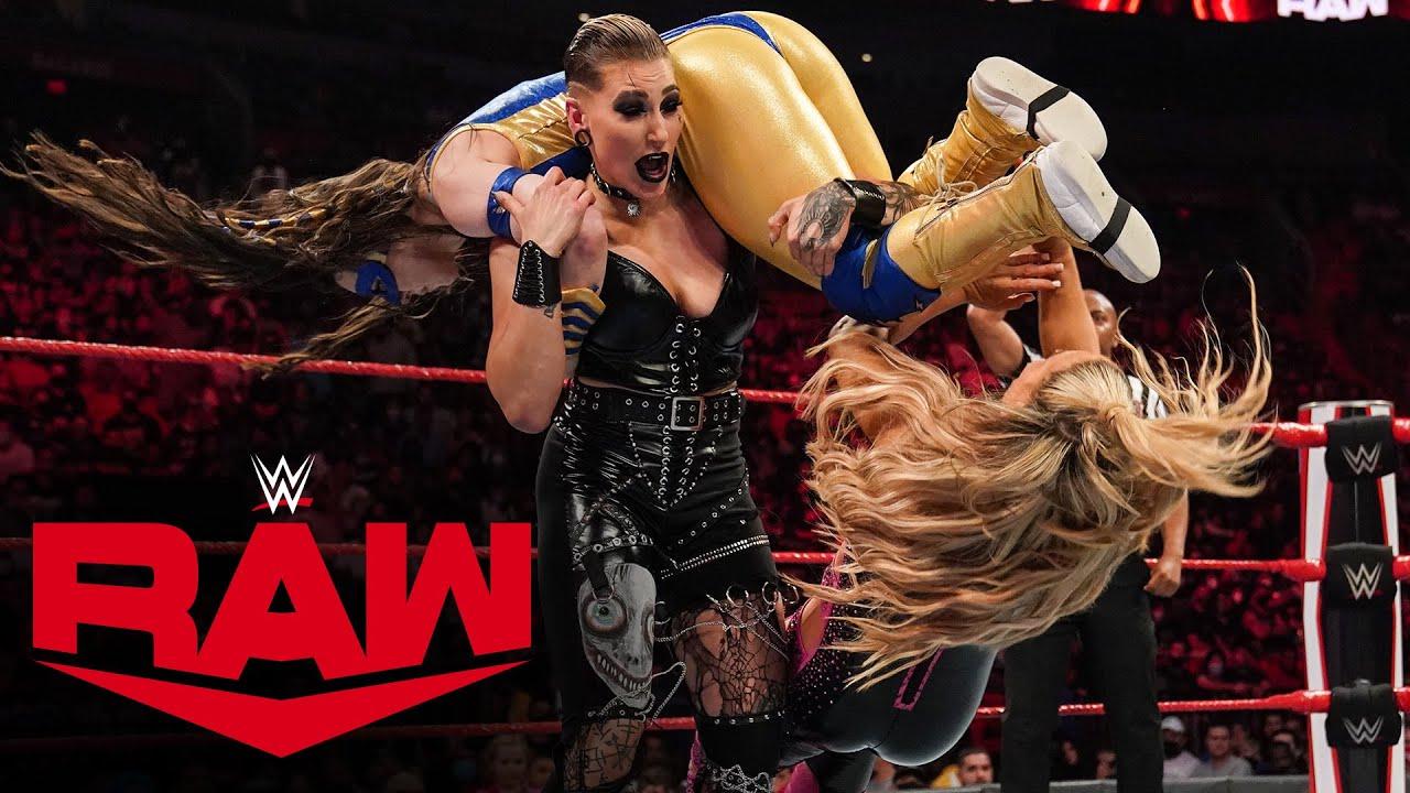 Download Rhea Ripley & Nikki A.S.H. vs. Natalya & Tamina: Raw, Sept. 6, 2021