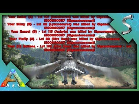 Psycho Kid Raids w/ Lv1Billion+ Giga! | Ark: Survival Evolved [S2E7]