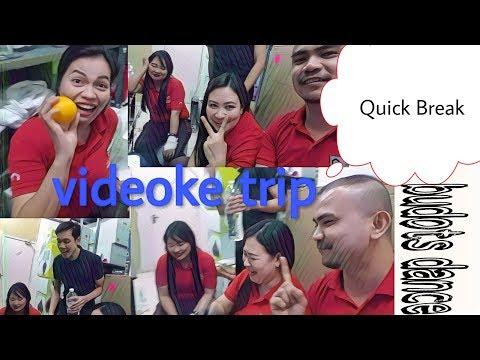 OFW pass time in Kuwait (Break time) Videoke..