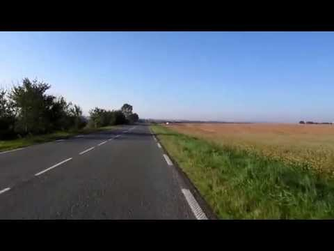 Ride in France near Roye