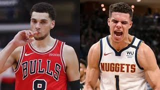 Chicago Bulls Could Trade Zach LaVine To Nuggets For Michael Porter Jr & More Assets!
