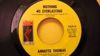 ANNETTE THOMAS - NOTHING IS EVERLASTING