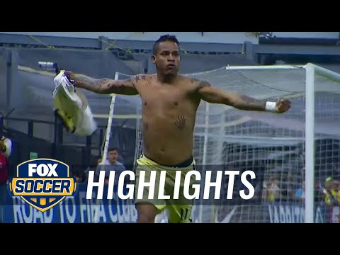 Club America vs. Tigres UANL | 2015-16 CONCACAF Champions League Highlights