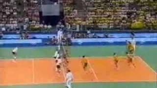 Volei Masculino - Olimpíada 1992 - Marcelo Negrão - Último Ponto - Brasil, Campeão Olímpico!